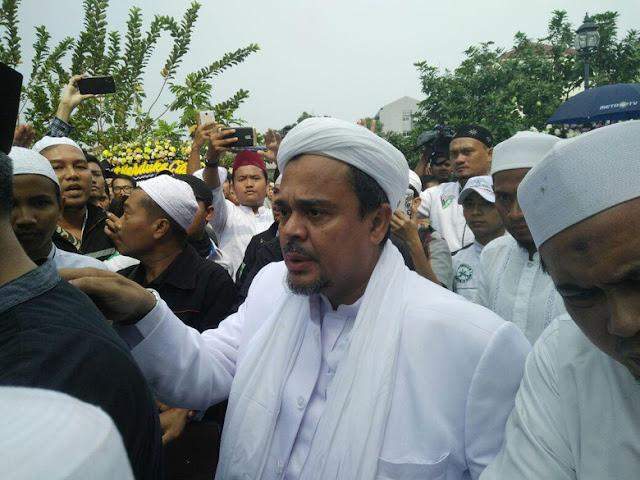 Habib Rizieq Pulang Februari, Alumni 212 Minta Tak Ada Penangkapan