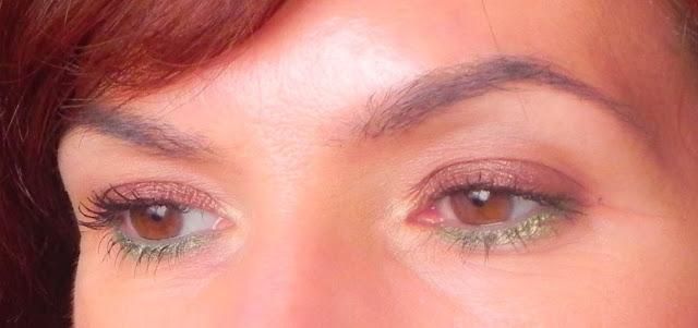 Maquillaje de ojos de primavera