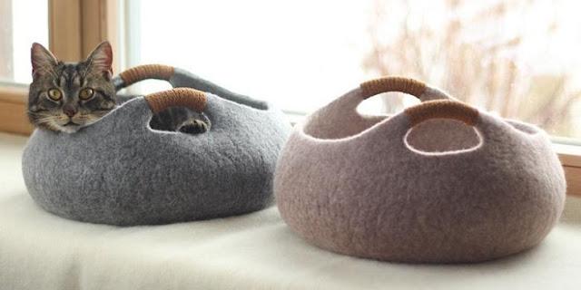 Tempat Tidur Kucing Modern, Cocok untuk Dekorasi Rumah