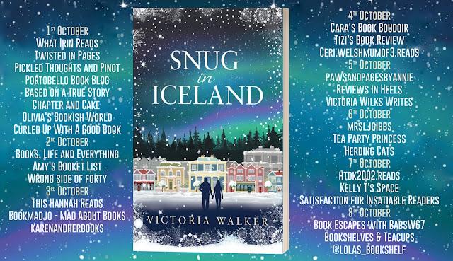 Snug In Iceland by Victoria Walker blog tour banner