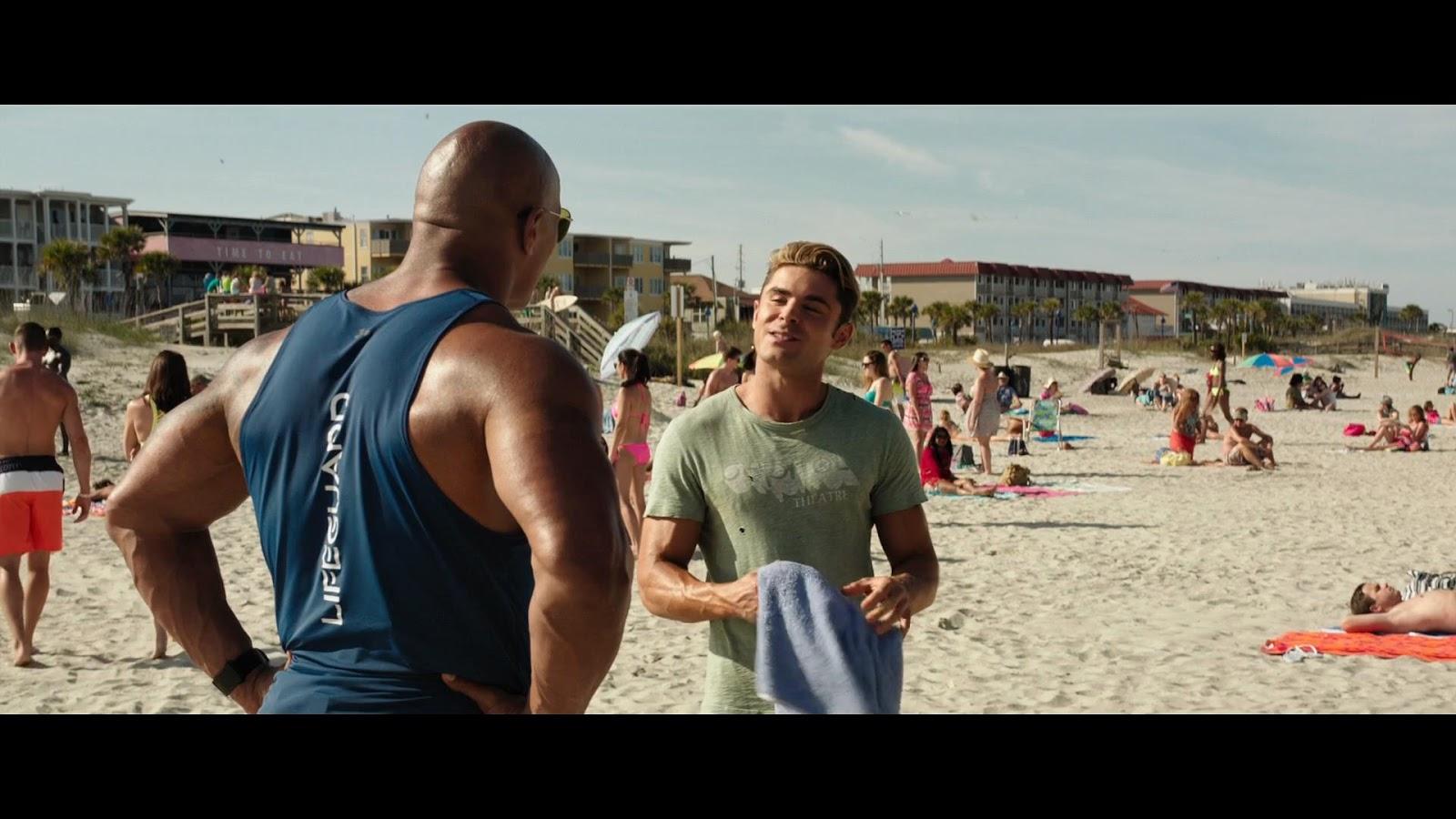 Baywatch Guardianes de la Bahía (2017) Full HD 1080p Latino - Ingles captura 3