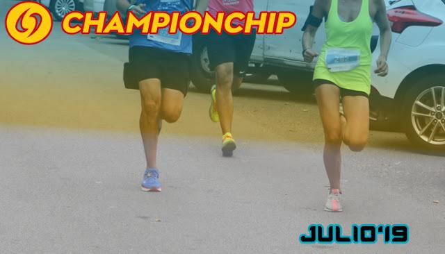 Lliga Championchip 2019 - Julio