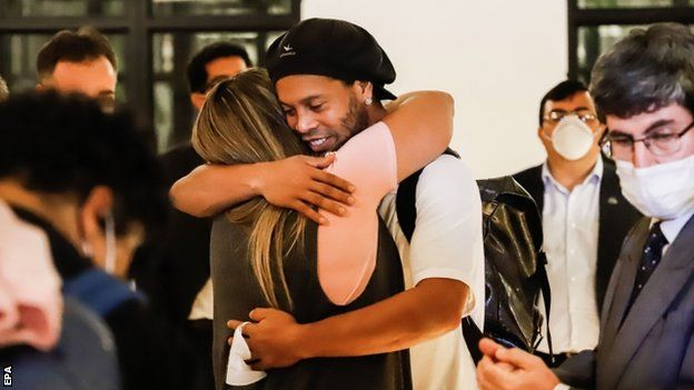 Ronaldinho Set to be released from home detention after 4 months