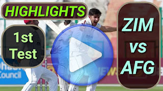 ZIM vs AFG 1st Test 2021