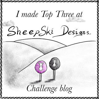 3 x SheepSki Designs Top Three