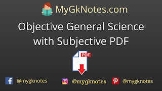 Objective General Science with Subjective PDF