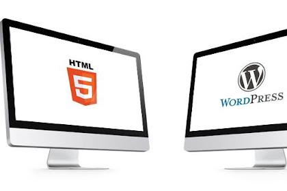 Bisakah template blogspot di pergunakan di Wordpress?