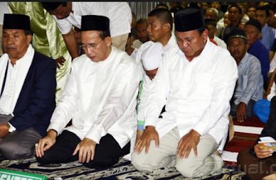 BIKIN GEMPAR !! Prabowo diklaim bisa dapat 20-30 juta suara dari ulama pewaris nabi