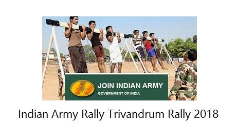 Indian Army Rally Trivandrum Rally 2018