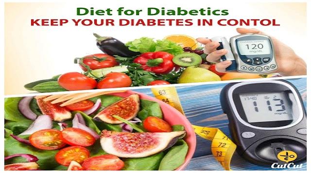 A precautionary diet for diabetics.