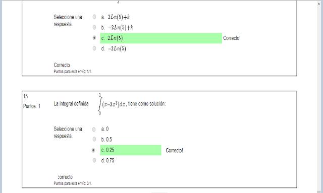 la integral definida tien como solucion