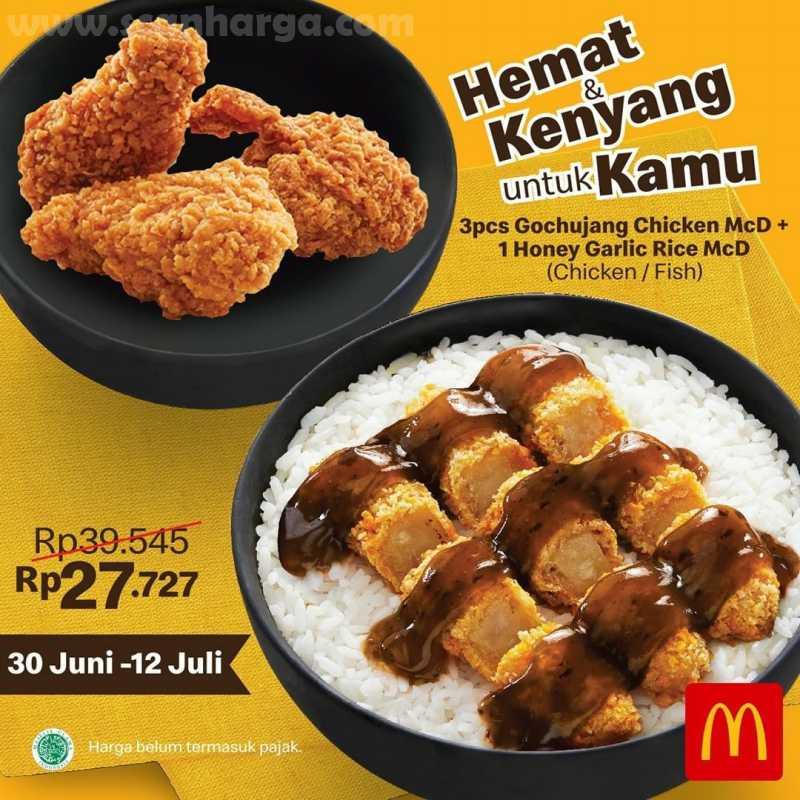McDonalds Promo Paket Hemat Edisi Harga Spesial mulai dari Rp 27.727 1