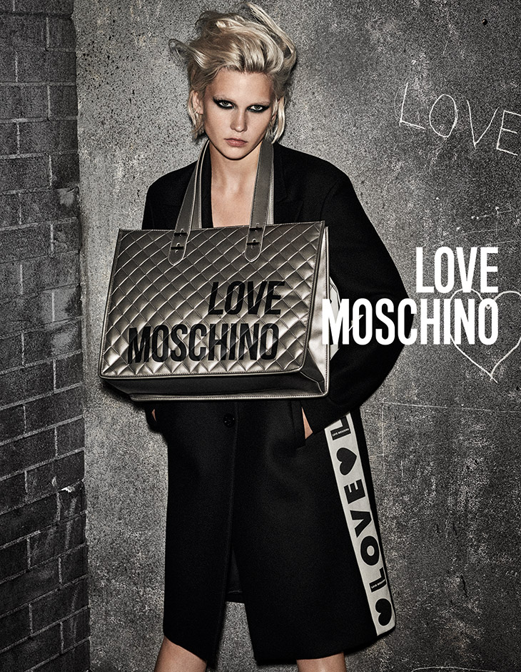 Jana Julius Models Love Moschino Fall Winter 2019.20 Collection