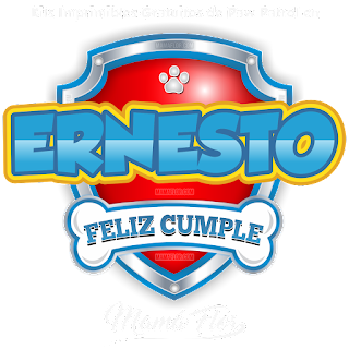 Logo de Paw Patrol: Ernesto