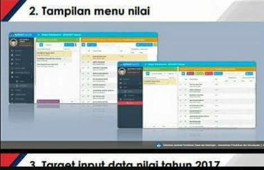gambar menu nilai aplikasi dapodik tahun 2017