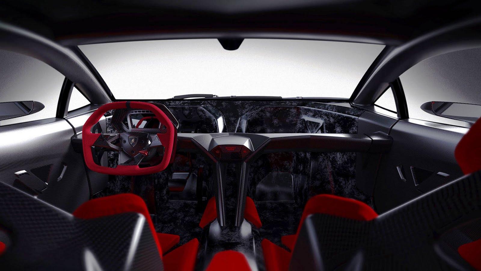Full HD Exotic Car Wallpapers: 2011 Lamborghini Sesto Elemento