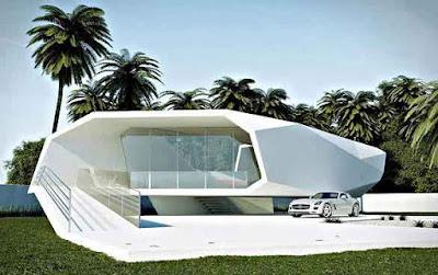 Desain rumah minimalis style Eropa