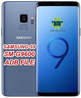 Samsung S9 SM-G9600 Adb File/Usb Debugging Enable File Download To Remove FRP
