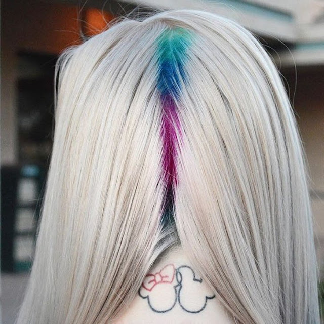 tendenza capelli rainbow roots tendenze capelli primavera estate 2016 cosa è il rainbow roots come fare il rainbow roots mariafelicia magno fashion blogger colorblock by felym beauty blogger beauty trend beauty tips hairstyle spring summer 2016 trend