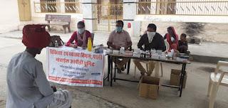 अलसीपुरा और माण्डीगढ़ में चलाया गया स्वास्थ्य जागरूकता अभियान