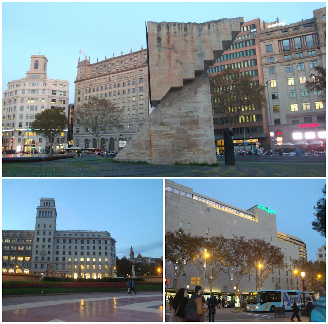 Onde ficar em Barcelona? Plaça Catalunya