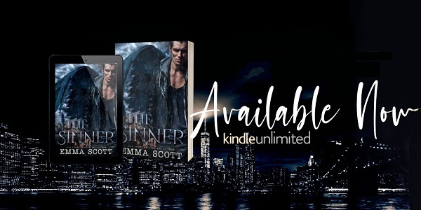The Sinner by Emma Scott. Available Now. Kindle Unlimited.
