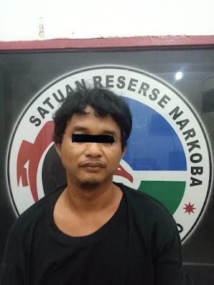 Polisi Gagalkan RA Warga Tebo Tengah Saat Transaksi Sabu