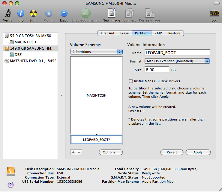 Install Mac Os X Leopard(10 5) to iBook G4 without CD/DVD | Tutorial