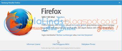 Download Mozilla Firefox 54.0.1 Offline Installer Terbaru