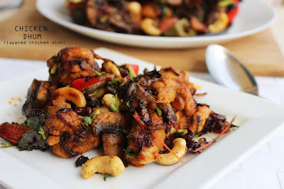 chicken dum recipe roasted chicken yummy recipes tasty simple chicken recipes