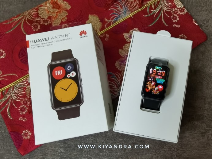 Unboxing Huawei Watch Fit
