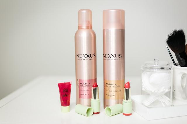 target beauty looks, graduation makeup, wedding makeup ideas, pixi lip color, nexxus mousse