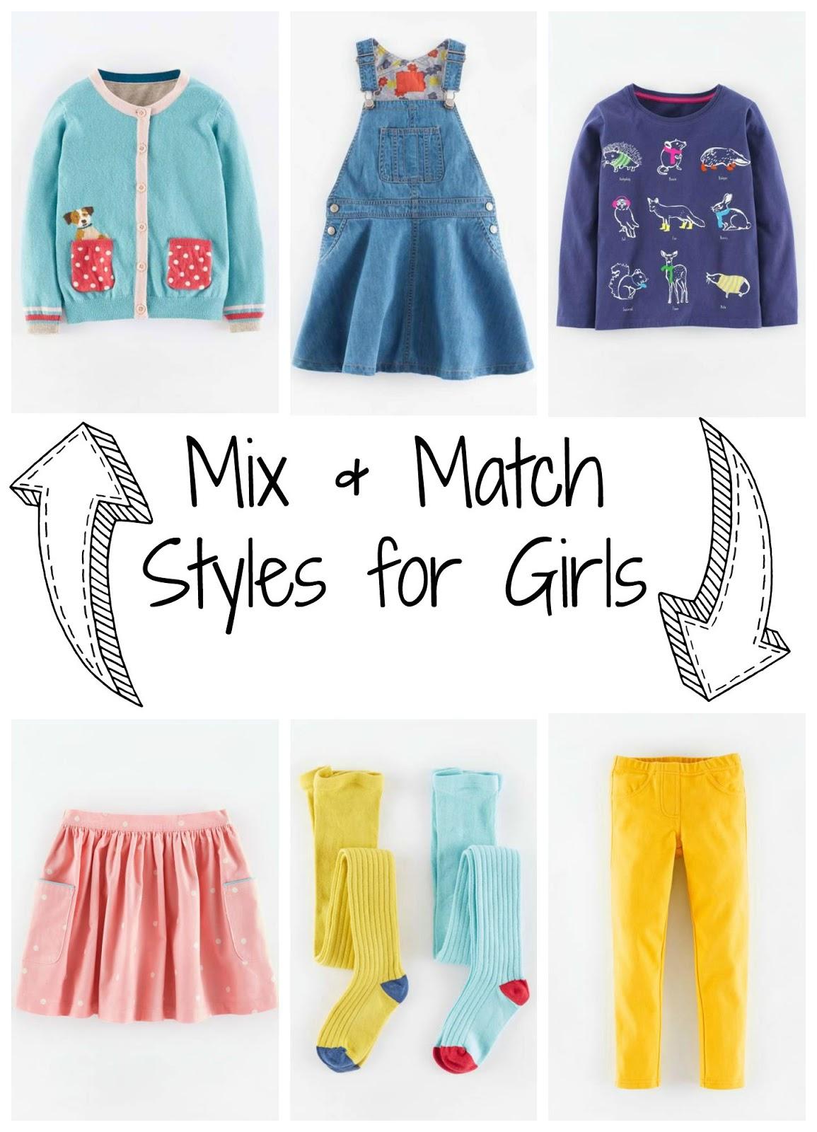 Clothes mix match The Key