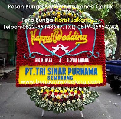 Bunga Papan Pernikahan The Dharmawangsa Hotel Nusantara Ballroom