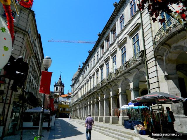 Rua do Centro Histórico de Braga, Portugal