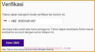 cara daftar email yahoo lewat pc