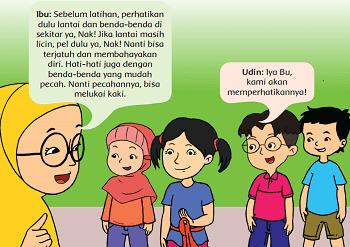 Udin dan teman-teman mengadakan latihan tari www.simplenews.me