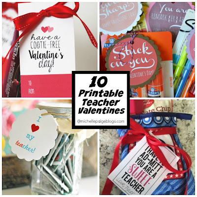 Valentines for the Teacher @michellepaigeblogs.com