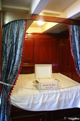 Camera da letto della fregata Etoile du Roi