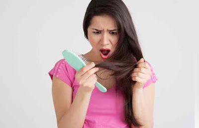 por que o cabelo cai quando esta sujo