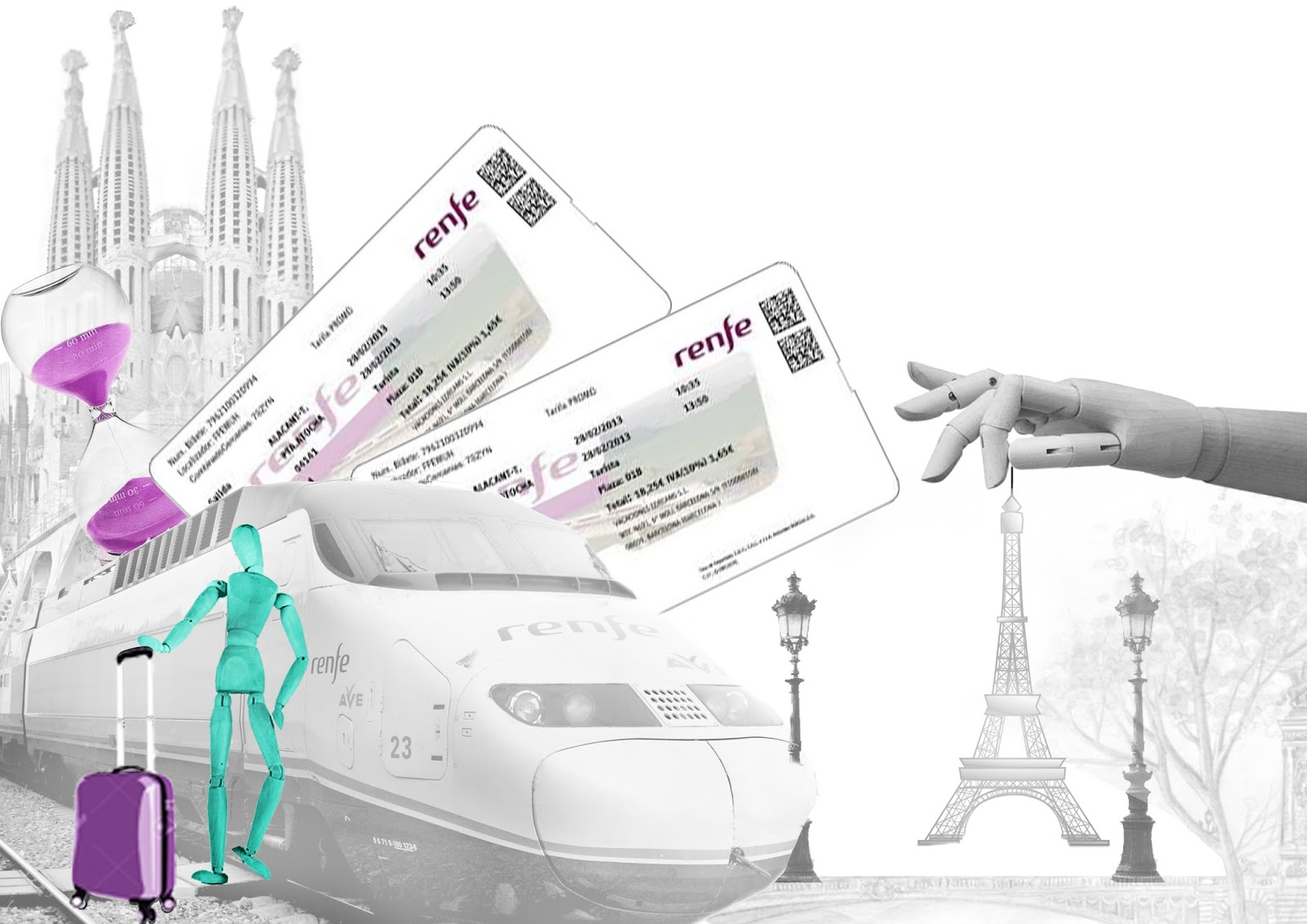 Les v ments de monsieur priv for Renfe barcelona paris