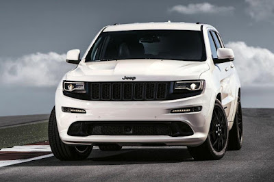 Jeep Grand Cherokee SRT Night (2016) Front Side