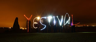 Yestival in Lights - slow shutter speed