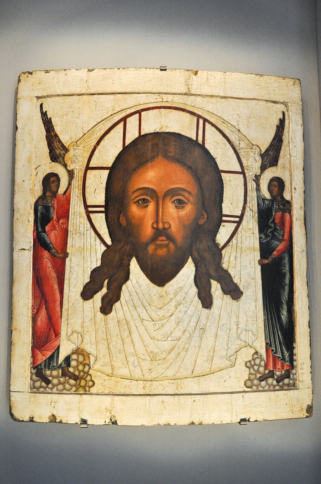 A Russian icon in the Gallerie d'Italia, Palazzo Leoni Montanari, Vicenza, Italy