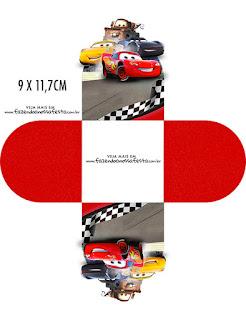 Cars 3: Free Printable Boxes.