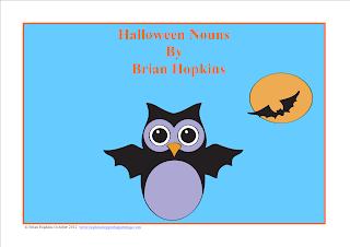 Halloween Nouns FREEBIE