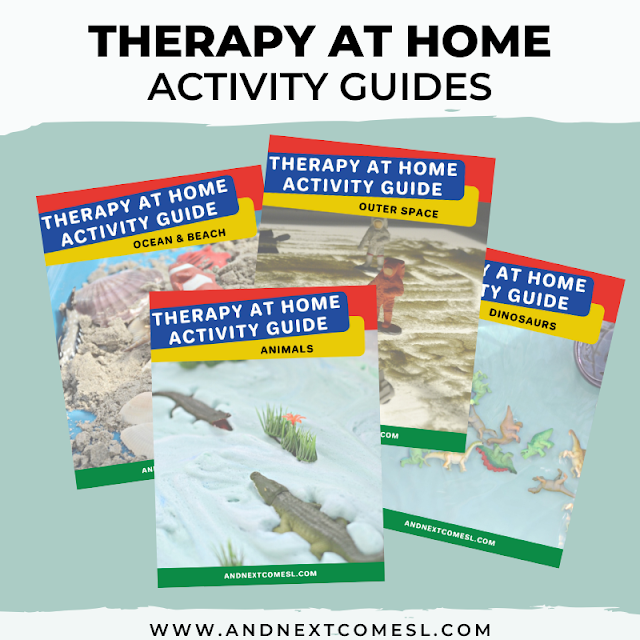 Therapy at home activity guides