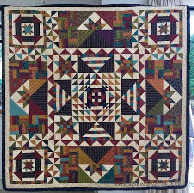 Julie's 'Pride and Joy' Kim Diehl quilt