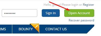 Регистрация в CoinCome