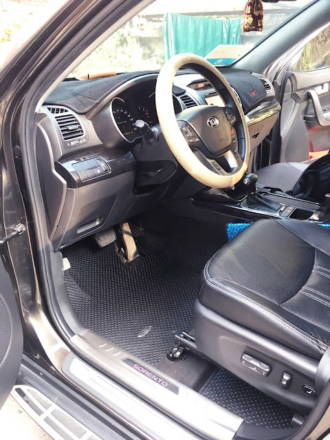 Thảm lót sàn ô tô Kia Sorento 2017